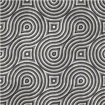 Black and Gray Wavy Maze
