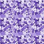 Purple Circles Pattern
