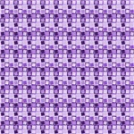 Purple Crazy Squares Pattern