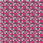 Pink and Gray Tiny Squares Pattern