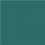 Turquoise Circles and Squares Pattern