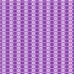Purple and White Squares In Squares Pattern