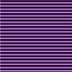 Purple and Black Horizontal Stripes