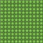 Green Stars Pattern