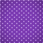 Cute Purple Polka Dots Pattern