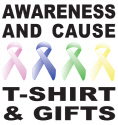CAUSE AWARENESS T-SHIRTS AND GIFTS