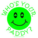 WHO'S YOUR PADDY? T-SHIRTS AND GIFTS