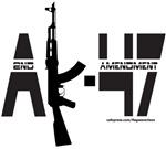 AK-47/SECOND AMENDMENT/2ND AMENDMENT T-SHIRTS & GI