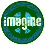 Cool Retro Imagine Peace