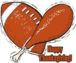 Football & Turkey Happy Thanksgiving Gifts