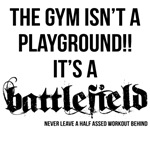Gym is a battle field