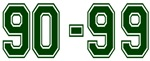 90-99 GREEN
