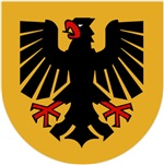 German Shield Eagle