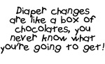 Diaper Changes Chocolates