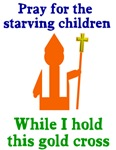 Pray for starving children
