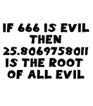 666 Root of all evil