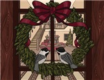 Holiday Chickadees