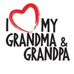I heart grandma and grandpa