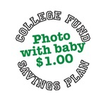 College fund savings plan photo with baby $1