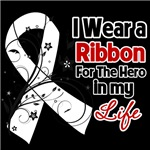 Ribbon Hero in My Life Bone Cancer Shirts