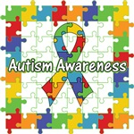 Autism Puzzle Ribbon Shirts and Gifts