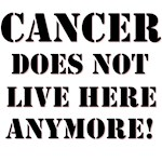 Cancer Does Not Live Here Anymore T-Shirts