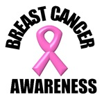 Breast Cancer Ribbon Awareness T-Shirts & Gifts