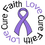 Hodgkin's Disease Faith Love Cure T-Shirts & Gifts