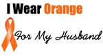 I Wear Orange For My Husband