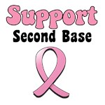 Support Second Base T-Shirts & Gifts