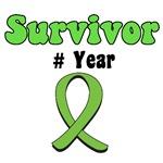 Lymphoma Survivor Year T-Shirts