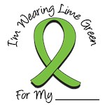 I'm Wearing Lime Green Ribbon T-Shirts & Gifts