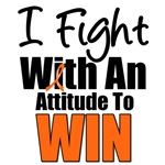 I Fight With An Attitude To Win Leukemia T-Shirts