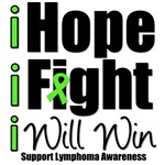 Hope, Fight & Win Lymphoma T-Shirts & Gift