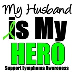 My Husband is My Hero Lymphoma T-Shirts