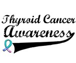 Thyroid Cancer Awareness Grunge T-Shirts & Gifts