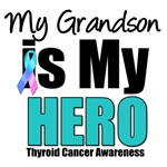 Grandson Thyroid Cancer Hero T-Shirts & Gifts