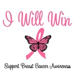 I Will Win Breast Cancer T-Shirts