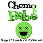 Chemo Babe Support Lymphoma Awareness T-Shirts