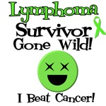 Lymphoma Survivor Gone Wild T-Shirts