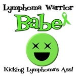 Lymphoma Warrior Babe T-Shirts & Gifts