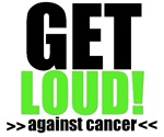 Get Loud Against Cancer T-Shirts & Gifts (Lime)