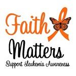 Leukemia Faith Matters T-Shirts & Gifts