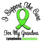 I Support The Cure For My Grandma Lymphoma Shirts