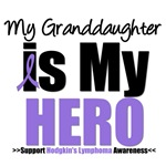Hodgkin's Lymphoma Hero (Granddaughter) Shirts