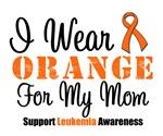 I Wear Orange For My Mom Grunge Shirts