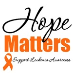 Hope Matters Leukemia T-Shirts & Gifts