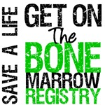 Get On The Bone Marrow Registry T-Shirts & Gifts