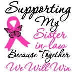 Breast Cancer Support (Sister-in-Law) Shirts & Gif