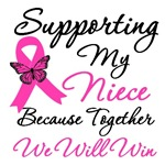 Breast Cancer Support (Niece) Shirts & Gifts